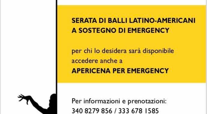 27 ottobre/ Mariano Comense/ Serata di balli latinoamericani per Emergency