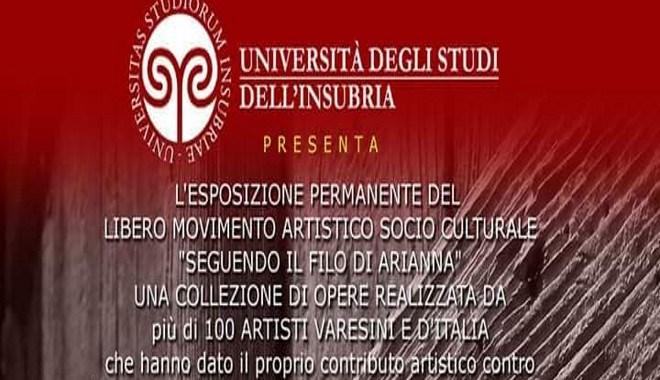 5 ottobre/ Varese/ inaugurazione mostra sul femminicidio