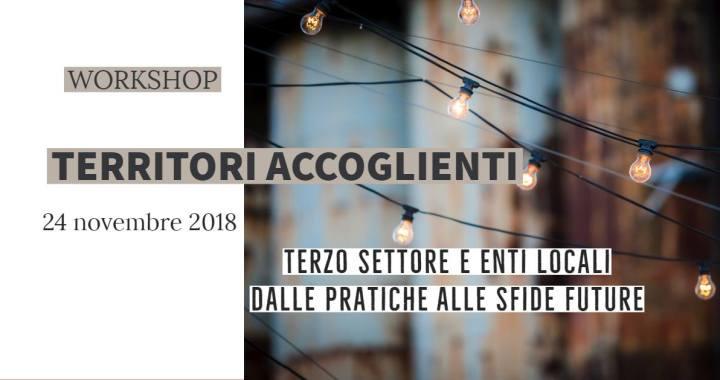 """24 novembre/ Como a Trento per """"Territori accoglienti""""/ Anche in streaming"""