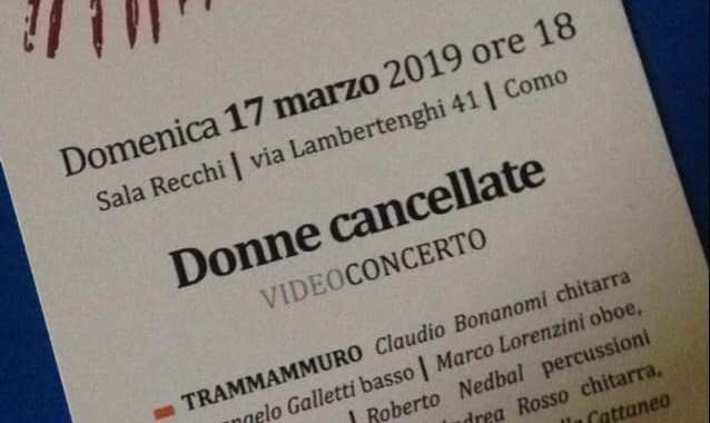 Video/ Donne cancellate