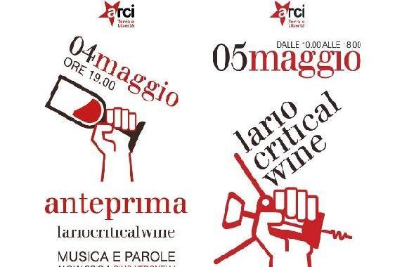 4 e 5 maggio/ Erba/ Lario critical  wine