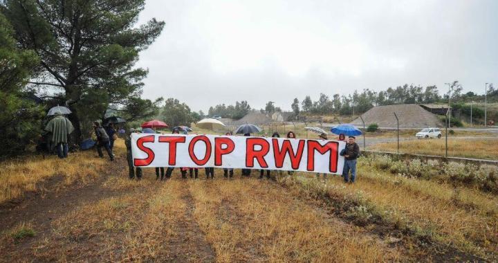 Assemblea Rwm/ Proteste contro le bombe in Yemen