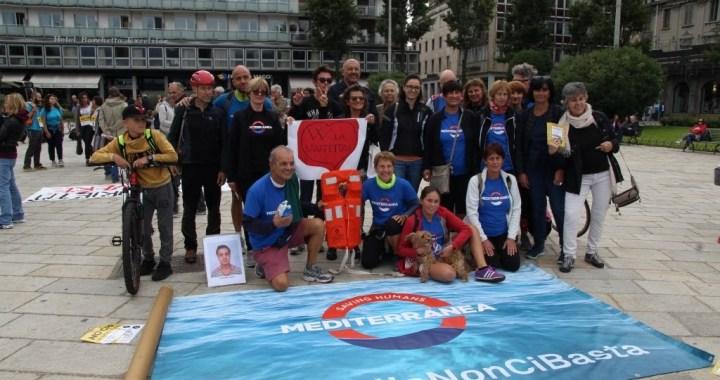 Video/ Solidarietà in marcia per Mediterranea contro i Cpr