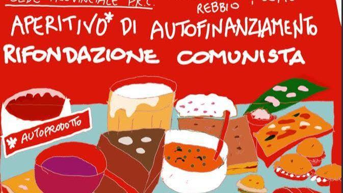 14 dicembre/ aperitivo autoprodotto per il Prc in via Lissi 8 a Como