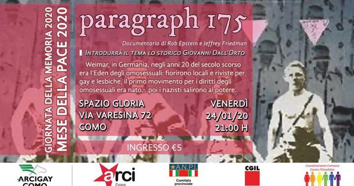 """ARCI COMO WebTV/ """"Èstate con noi""""/ Paragraph 175"""