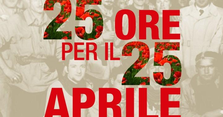 24 aprile/ Arciwebtv/ 25 ore per la Liberazione