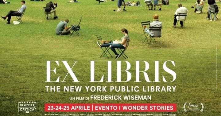12 aprile/ Arciwebtv/ Ex libris – La biblioteca comunale di New York