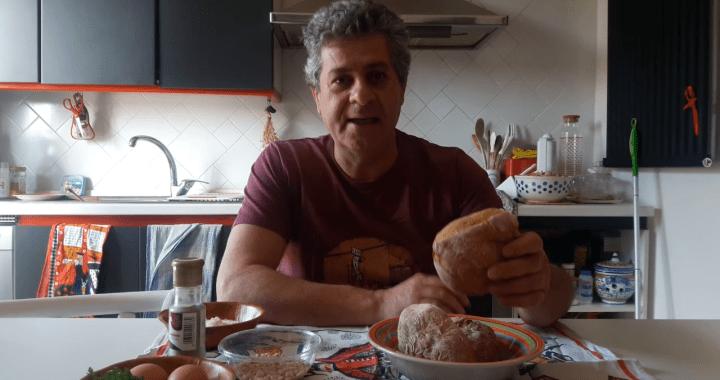 20 aprile/ Arciwebtv/ In cucina con Enzo D'Antuono/ Polpette di pane