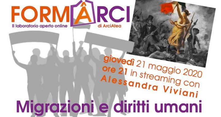 21 maggio/ Arciwebtv/ Dibattito aperto su migrazioni e diritti umani