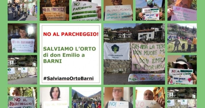 Circolo Ambiente Ilaria Alpi/ Selfie per salvare l'orto di don Emilio
