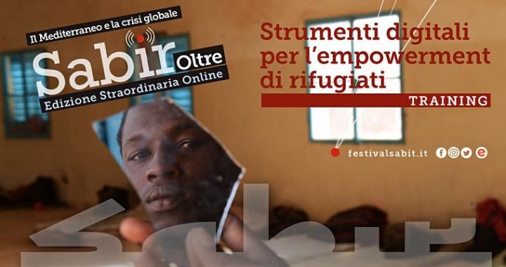 12 giugno/ Arciwebtv/ Sabir 2020/ Strumenti digitali per l'empowerment dei rifugiati