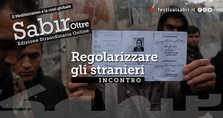 4 giugno/ Arciwebtv/ Sabir/ Regolarizzare gli stranieri: una scelta di civiltà