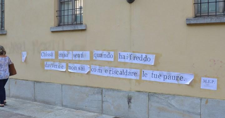 Poesia/ I muri parlano, basta ascoltare