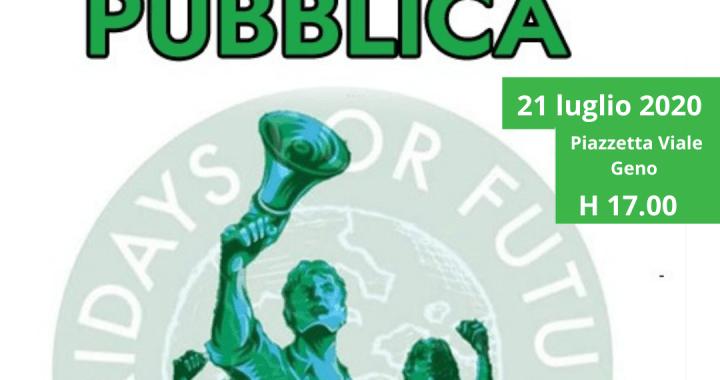 21 luglio/ Fridays for future/ Invito all'assemblea pubblica