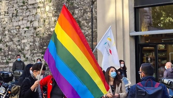 Video/ Csf per i diritti con l'Arci gay