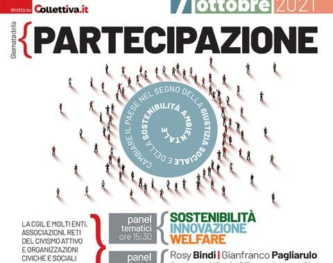 7 ottobre/ Giornata della partecipazione/ Iniziativa nazionale Cgil a Roma