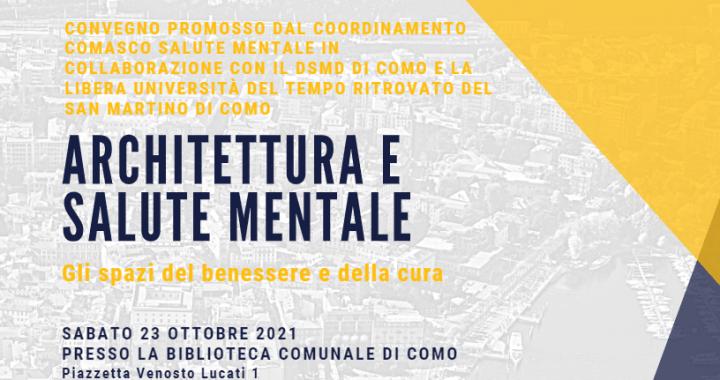 23 ottobre/ Architettura e salute mentale