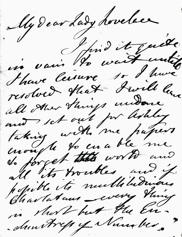 INFRA letter