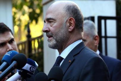 Pierre Moscovici visits Athens