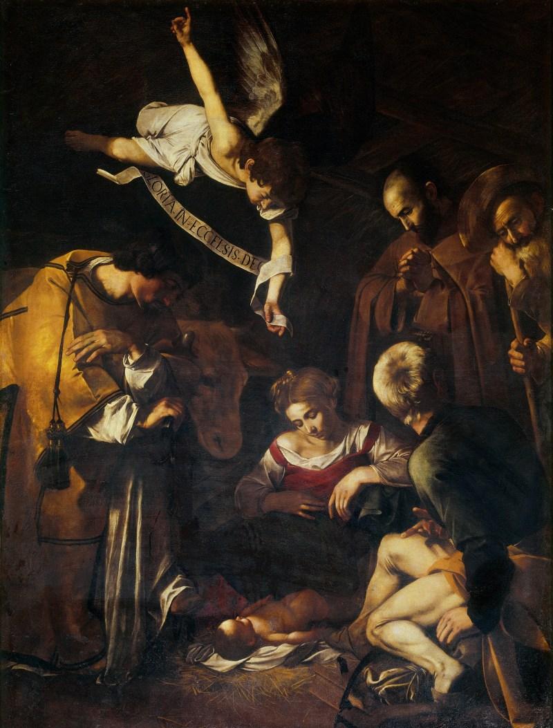 Caravaggio Nativity(1600)