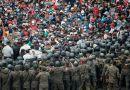 Carovana di migranti dal Guatemala, scontri al confine