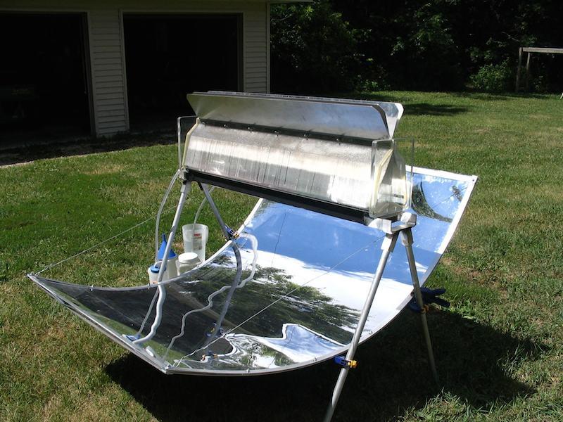 Depurador casero de agua mediante energía solar001