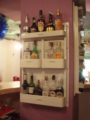 botellero con puerta de frigorífico
