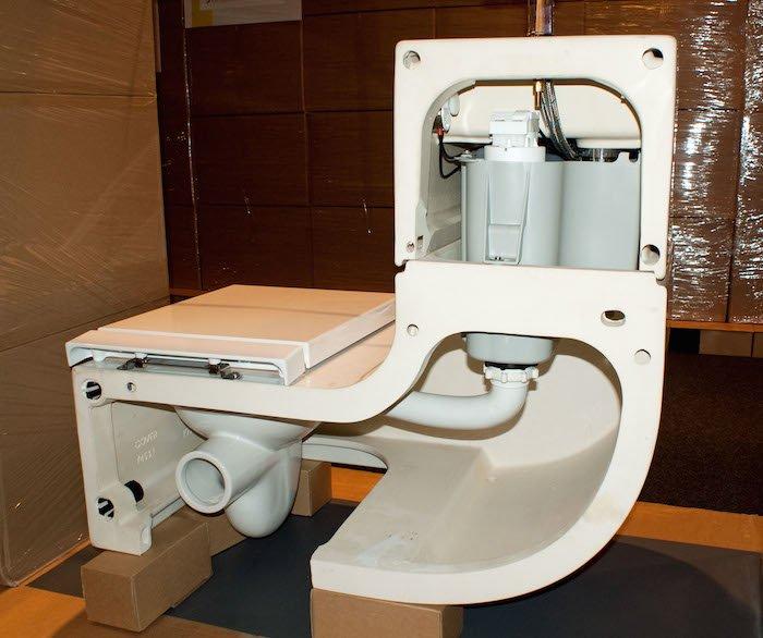 W w el inodoro que reutiliza el agua del lavabo - Inodoro y lavabo en uno ...