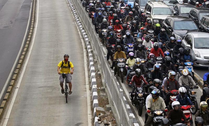 Usa la bici en la ciudad