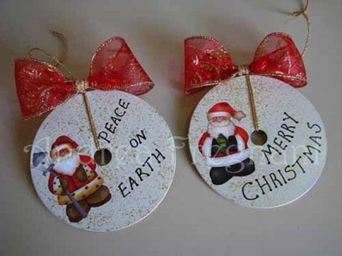 22 adornos navide os reciclando o reusando desechos - Detalles navidenos caseros ...
