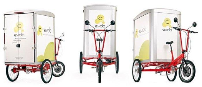 C-Evolo. Triciclo eléctrico transporte de mercancias