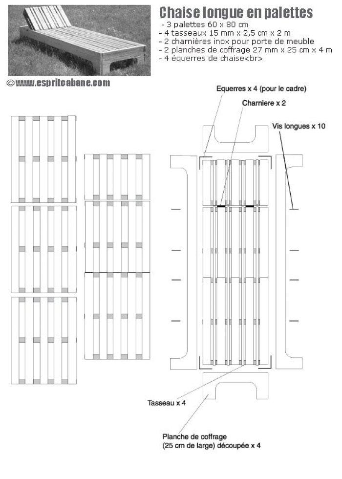 Planos Para Construir Muebles Reutilizando Palets
