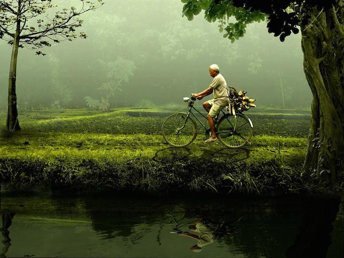 Conduce menos. Camina más. Usa la bicicleta.