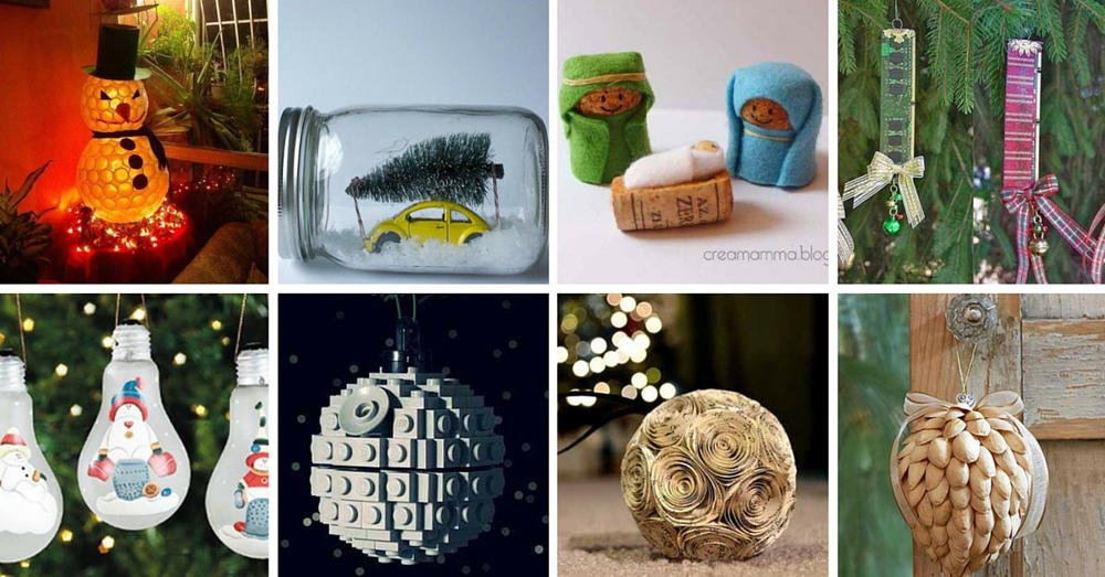 22 adornos navide os reciclando o reusando desechos for Ideas para decorar reciclando