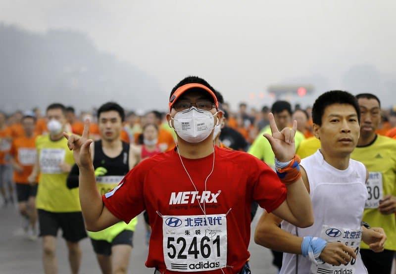 contaminacion maraton de pekin5