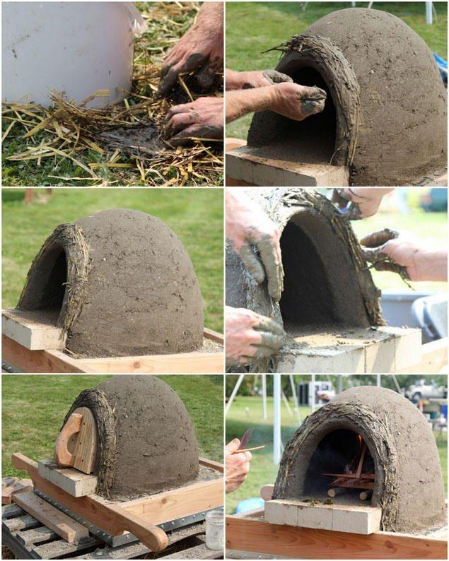 Paso 41 Crear la capa térmica horno de leña