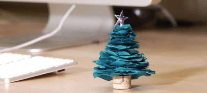 hacer un rbol de navidad casero - Arbol De Navidad Casero
