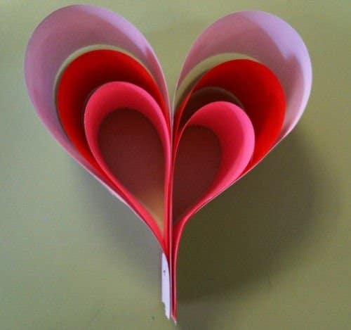 22 corazones o flores para el día de los enamorados reciclando o ...