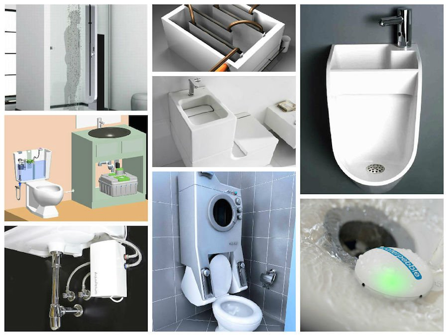 24 soluciones para ahorrar agua en el hogar for Wc sin agua