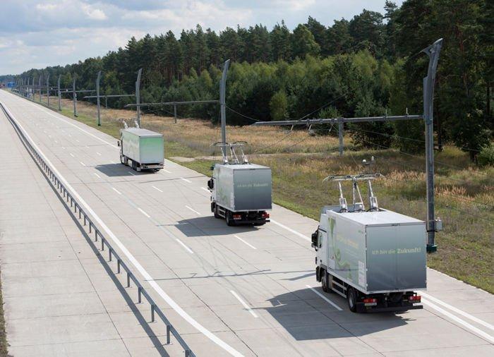Camión eléctrico 'cero emisiones' en autopista