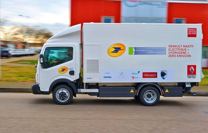 El primer camión de Europa con pila de combustible de hidrógeno1