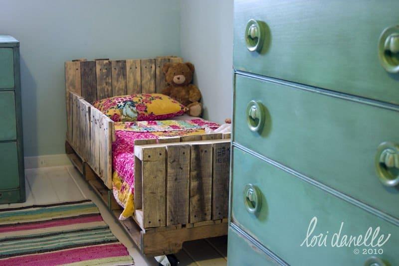 ideas para hacer camas con palets