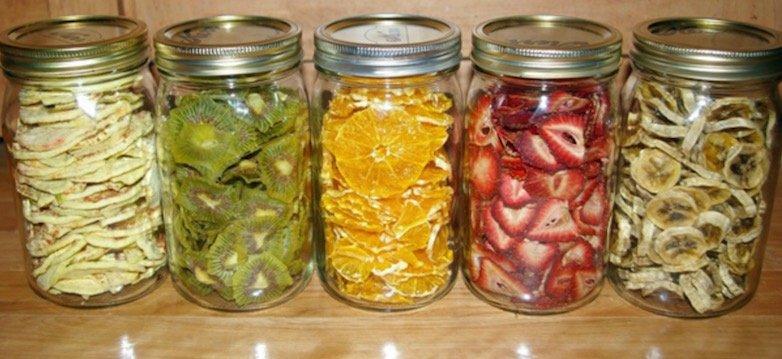 Como hacer fruta deshidratada en casa