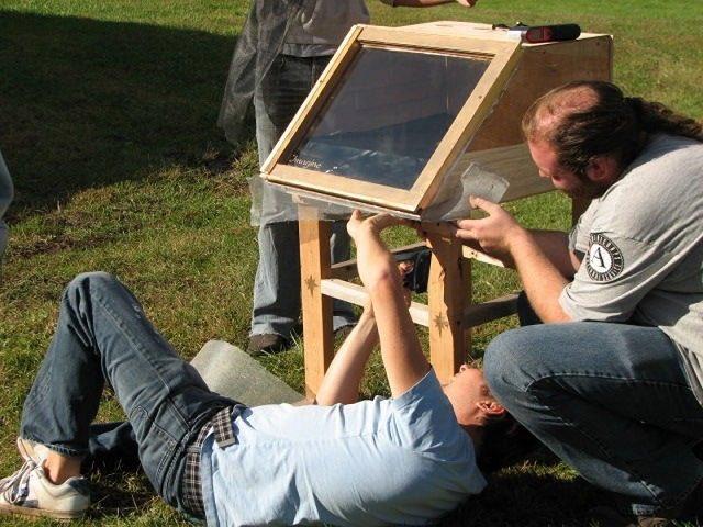 Como hacer un deshidratador de comida solar casero paso 4