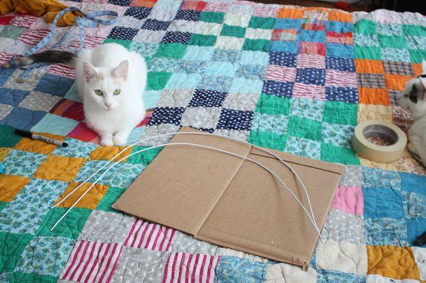 Como hacer una casita para tu gato 2