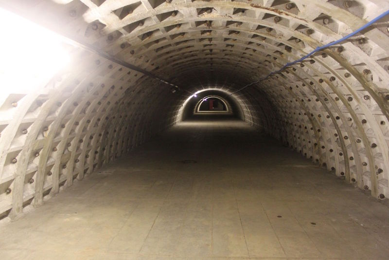 Huerto subterraneo tuneles segunda guerra mundial