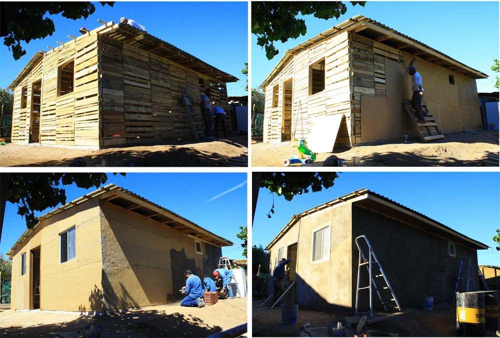 Como hacer una casa con palets - Construir una casa precio ...