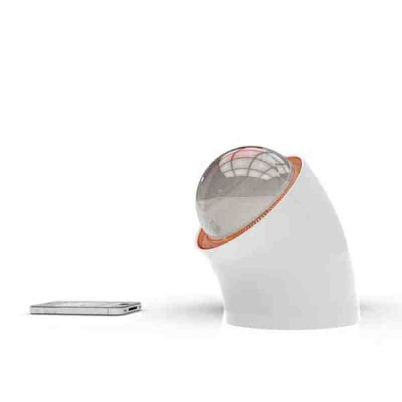 Esferas solares para cargar el móvil