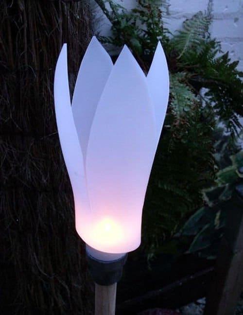 Lámpara de jardin