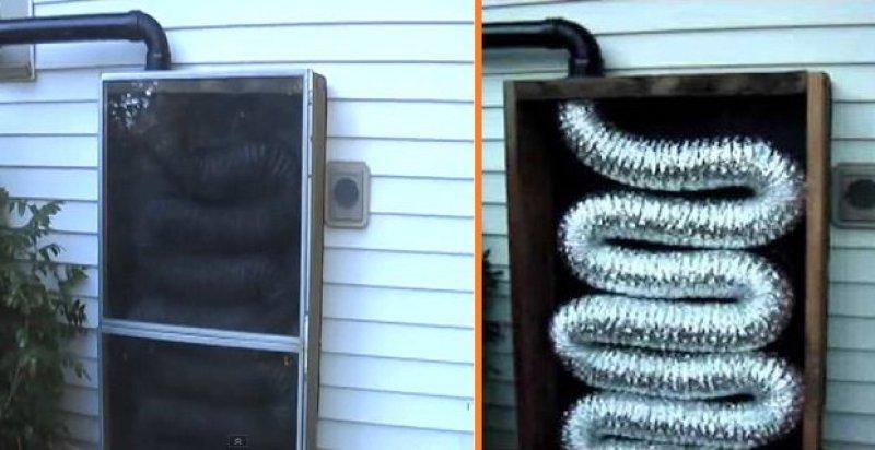 Cómo construir una calefacción Solar casera